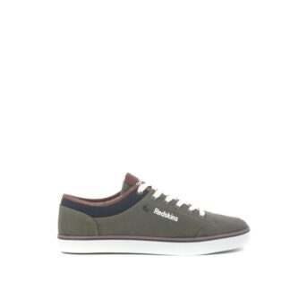 mano-087-114-redskins-baskets-sneakers-chaussures-a-lacets-toiles-kaki-fr-1p
