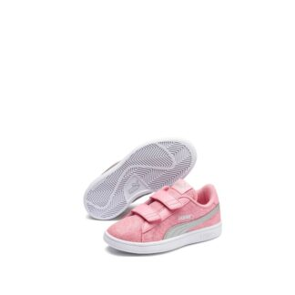 mano-545-1h6-puma-baskets-sneakers-chaussures-a-lacets-rose-puma-smash-v2-glitz-glam-ps-fr-1p