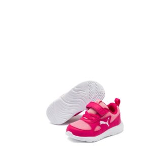 mano-545-1i8-puma-baskets-sneakers-chaussures-a-lacets-rose-fluo-puma-fun-racer-inf-fr-1p
